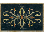 Rectangle Floor Medallion